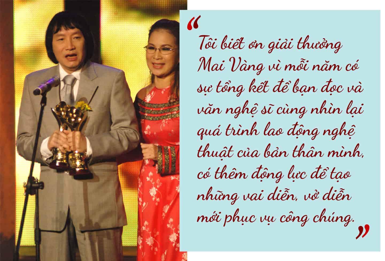 [eMagazine] NSND Minh Vương: Giải Mai Vàng cho tôi nhiều cảm xúc - Ảnh 2.