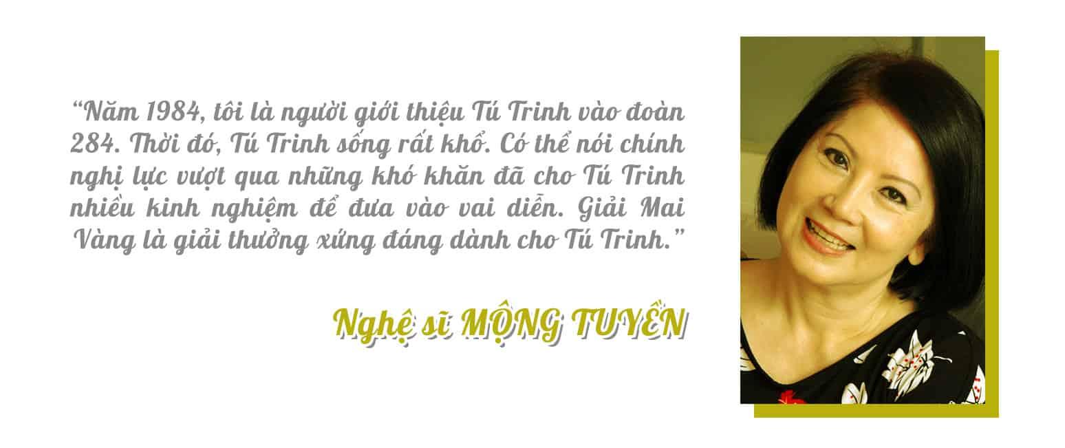 [eMagazine] Nghệ sĩ Tú Trinh: Mai Vàng - Giải thưởng duy nhất trong đời tôi - Ảnh 12.