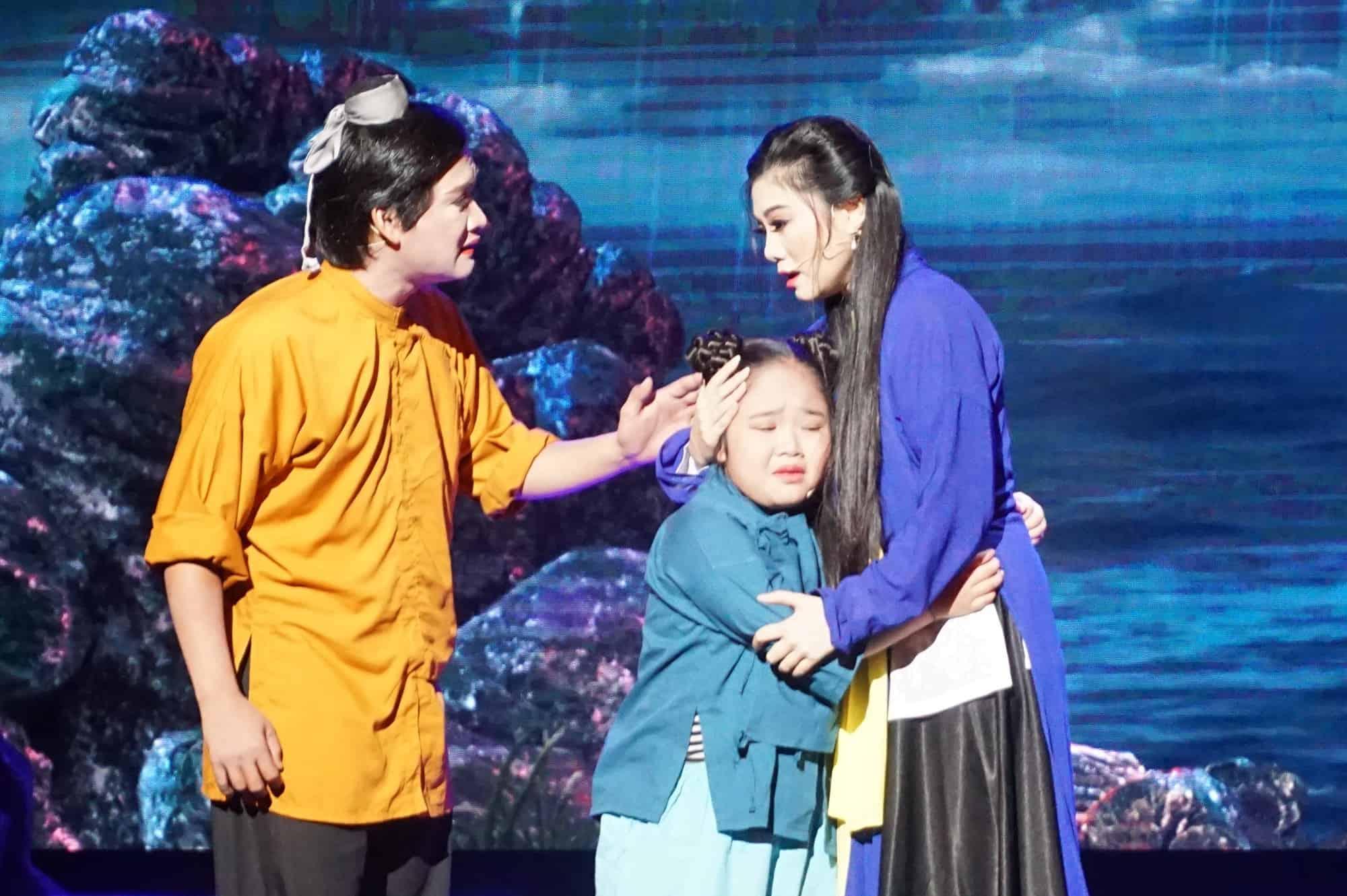 NS Thanh Toàn (Chuông vàng vọng cổ 2015) để lại nhiều cảm xúc cho vai Dã Tràng