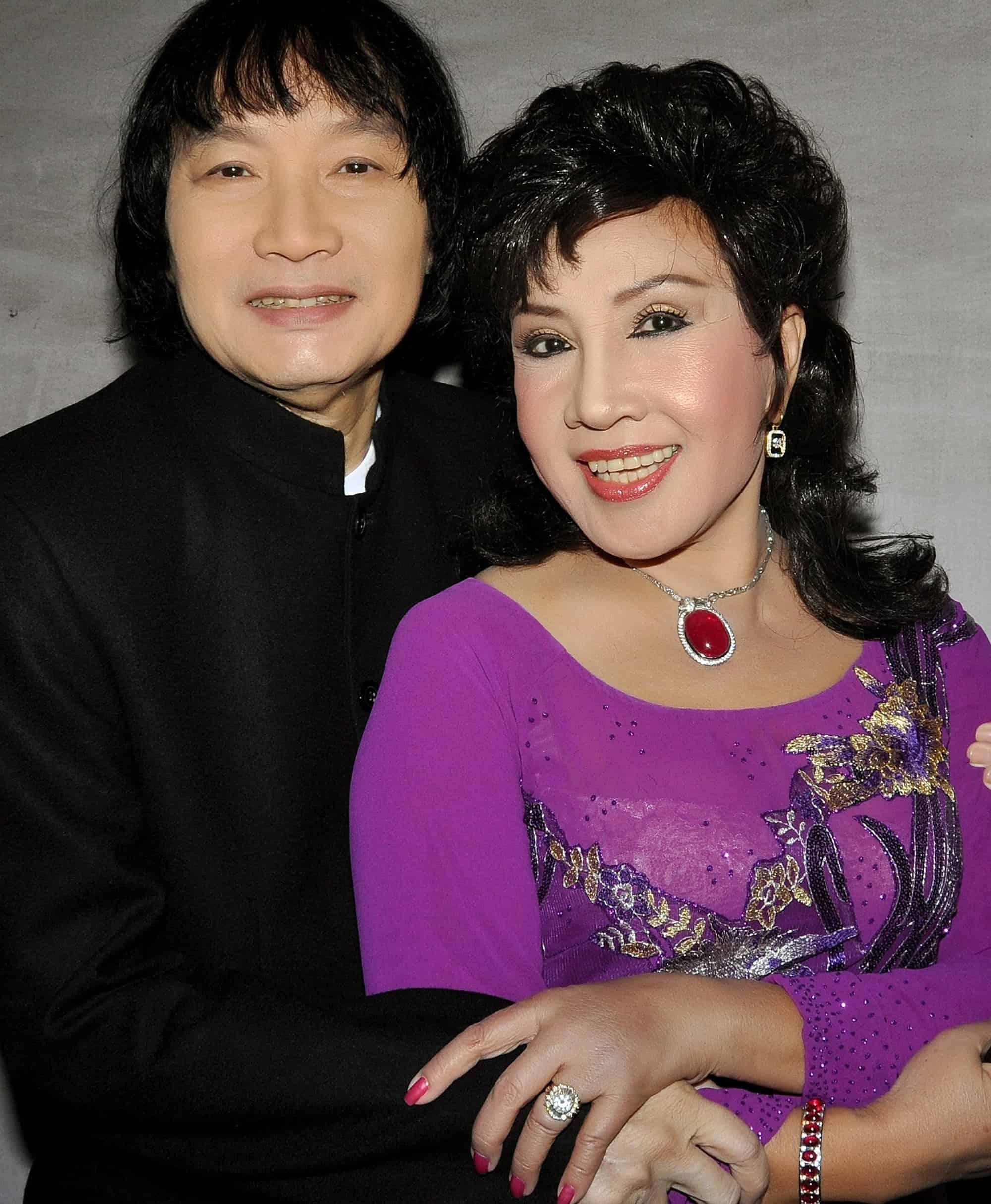 Hai nghệ sĩ Minh Vương - Lệ Thủy.