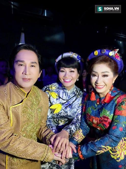 Nghệ sĩ ưu tú Thoại Mỹ, Ngọc Huyền, Kim Tử Long đang làm giám khảo cuộc thi Đường đến danh ca vọng cổ.