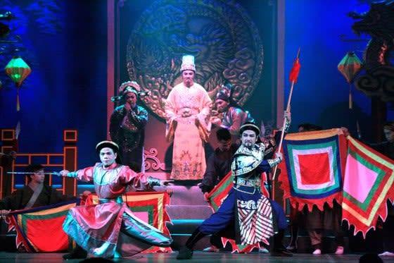 Giải cứu sân khấu truyền thống: Những tiếng lòng… trên giấy ảnh 1