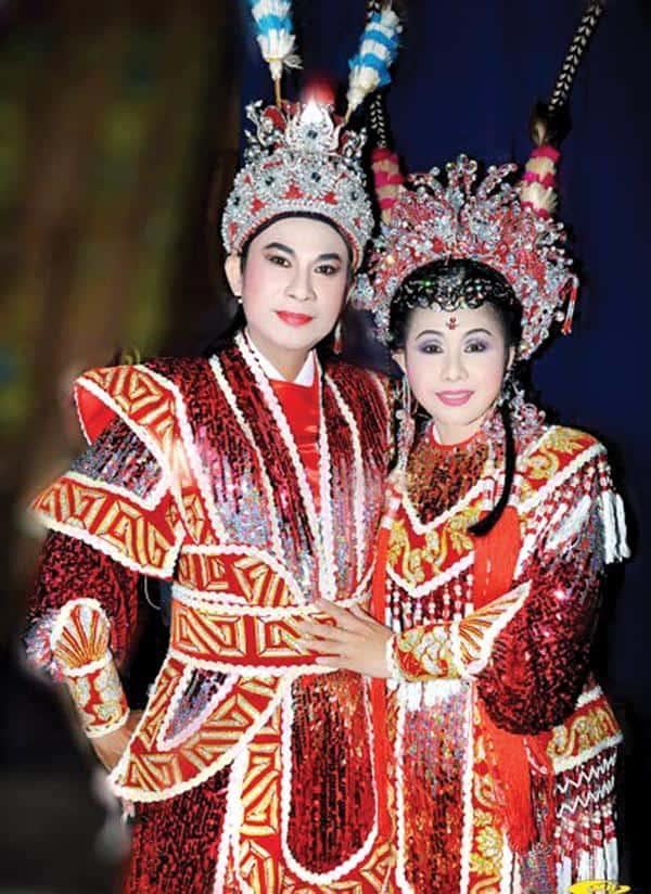 Chí Linh - Vân Hà trở thành cặp đôi ăn ý trong từng đường ca nét diễn