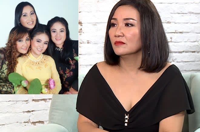Ngân Quỳnh là em gái thứ 4 của nghệ sĩ cải lương Thanh Hằng. Chị sinh ra trong gia đình có truyền thống 3 đời hát cải lương. Ảnh chụp màn hình