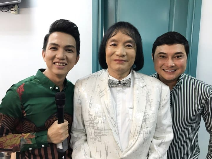 NSƯT Minh Vương và Nguyễn Minh Trường, Phùng Ngọc Bảy - 2 diễn viên đã từng tham gia và đoạt giải Chuông vàng vọng cổ