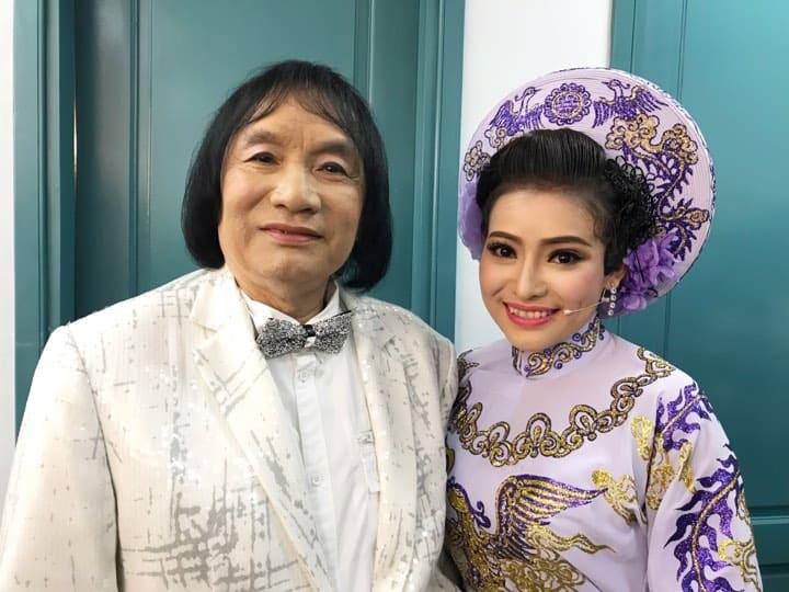 NSƯT Minh Vương và diễn viên Trần Ngọc Nhã Thy