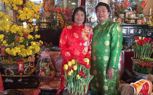 NSND Minh Vương và con trai - một doanh nhân khá thành công