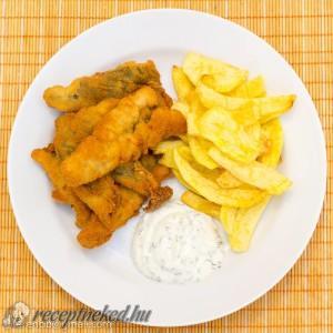 Fish & chips törpeharcsából