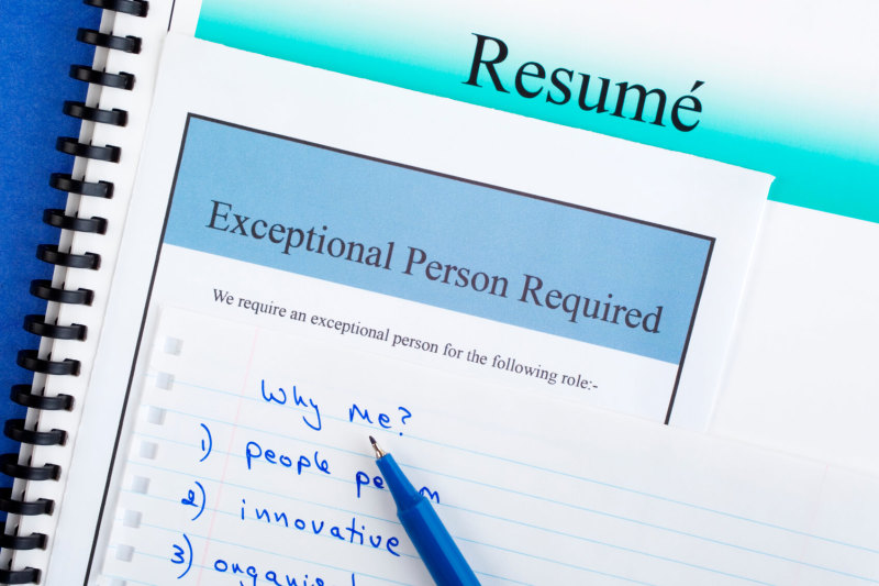 Resume writing call to action