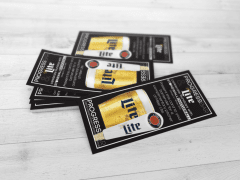 Printed Coupons for Chicago Nightclub