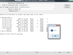 SmartQuerier: Parse a txt to query data in an xlsx