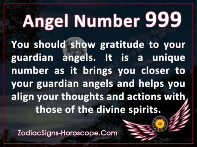 Angel Number 999 and its Meaning – KennethWatson's Portfolio