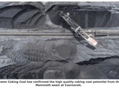 Bowen confirms high quality coking coal potential
