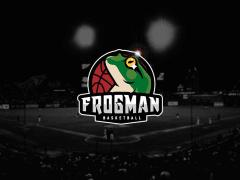 水蛙籃球隊隊徽設計