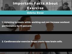 Amazing Exercise Facts   Odeta Rose