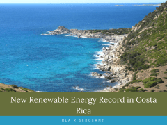 New Renewable Energy Record in Costa Rica