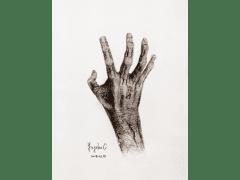 手繪作品:Monster Hand