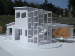 美軍宿舍改建模型