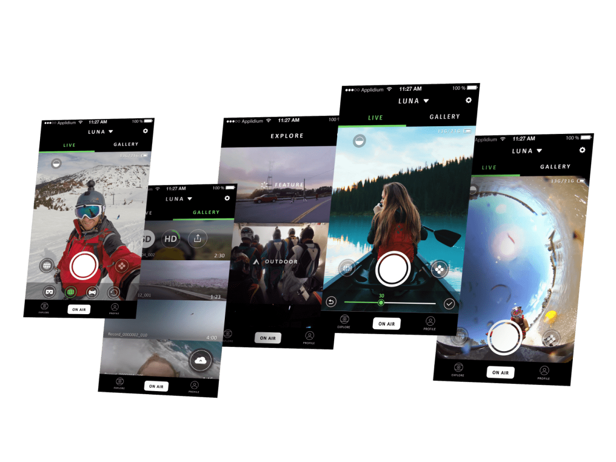 LUNA 360 ° VR Camera App – 陳品瑄's Portfolio