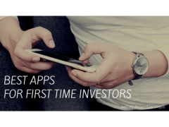 Best Apps for First-Time Investors