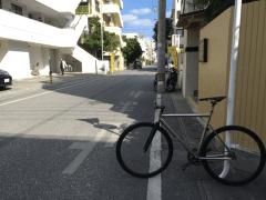 Titanium Track bike frame (Ti-6Al-4V)