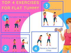 Exercises to Get a Flat Stomach | Odeta Rose