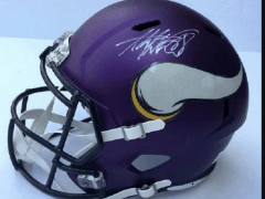 ADRIAN PETERSON MINNESOTA VIKINGS HAND SIGNED