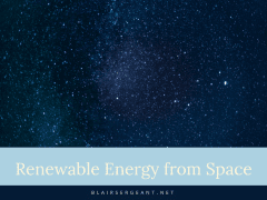 Renewable Energy from Space