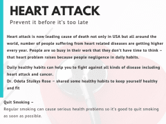 Prevent Heart Attack | Odeta Stuikys Rose