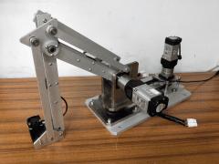 論文題目:三軸機械手臂雷射加工控制之研究