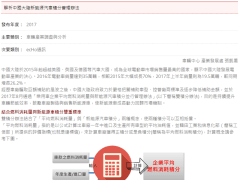 解析中國大陸新能源汽車積分管理辦法