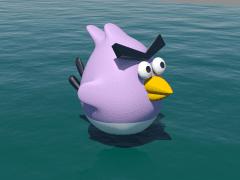 3DMAX_憤怒鳥