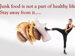 Be healthy stay away from junk food | Odeta Rose