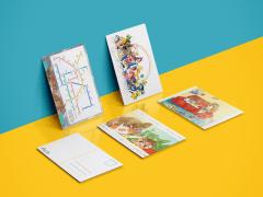 《每個Z》雜誌創刊號-遊戲人生 明信片