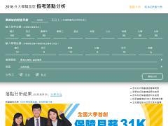 中華大學職涯型落點分析網