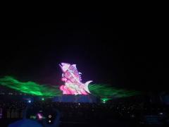 台灣燈會彩排 林佳龍為30周年特展揭幕