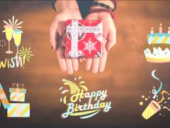 Celebration 慶祝_動態設計,威力導演產品包,共五款。