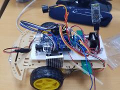 Arduino BlueTooth Car