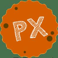 PX 漫漫手工市集 logo
