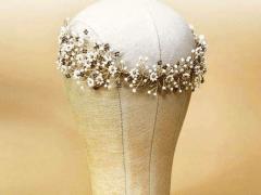 Little Daisies bridal hair piece