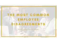 The Most Common Employee Disagreements