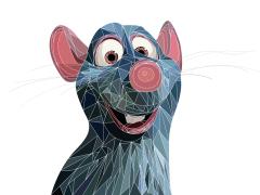 Pixar/ Illustrator/ Computer Graphic