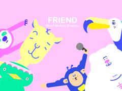 Friend|Motion Graphic
