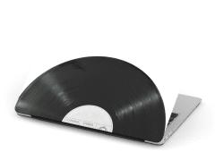 Vinyl Record MacBook Cover