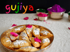 Mawa Gujiya Recipe | How to Make Mawa Gujiya