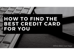 How to Find the Best Credit Card for You