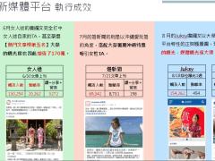 大榮旅遊 新媒體平台曝光成效
