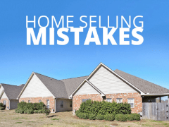 Mistakes should avoid when selling a House