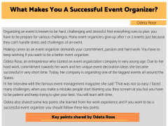 What Makes You A Successful Event Organizer?
