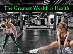 Health is real wealth   Odeta Rose